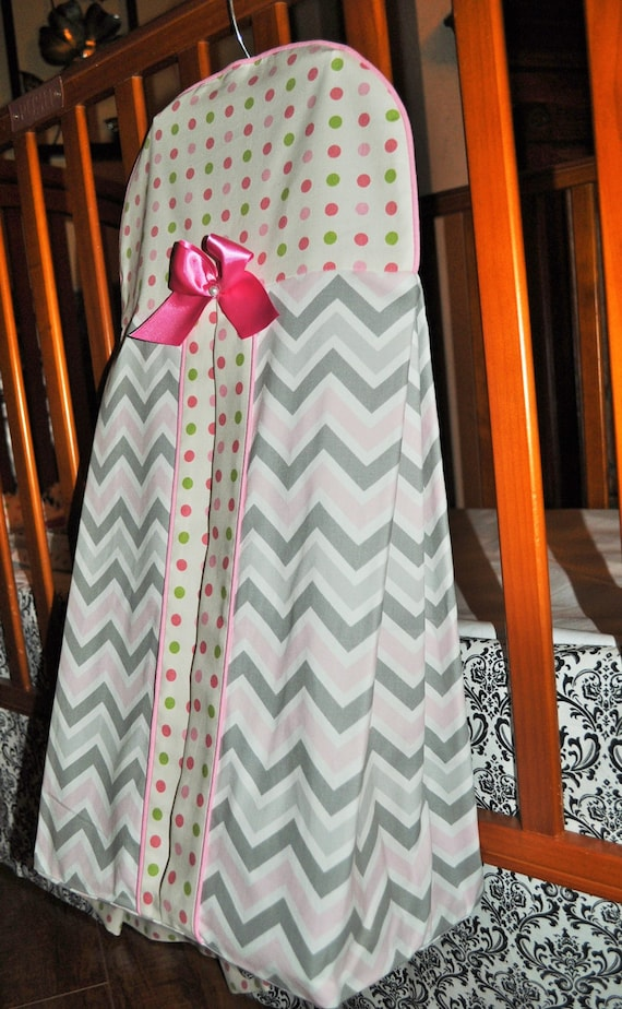 Items Similar To Custom Diaper Stacker In Chevron And