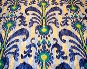 decorator fabric, iman java moon fabric, luna blue 1 yard