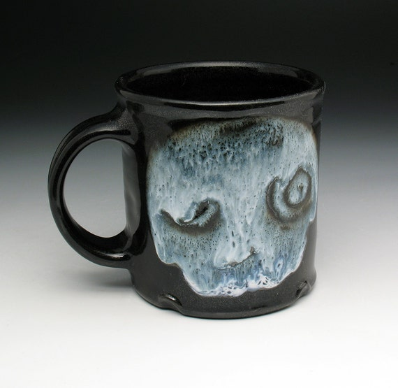 Sale Unique Coffee Mug Large Skull Tea By