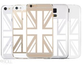United Kingdom Flag Clear Phone Case Apple and Android