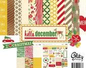 Glitz Design-Hello December 12x12 Collection Pack