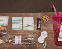 S'more Glamping Birthday party kit, download (girl birthday, camping, outdoor, wilderness party)