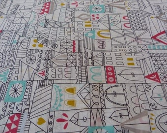 Hamlet, Revelry Collection by Lisa Congdon for Cloud 9 Fabrics, 1/2 yd Voile