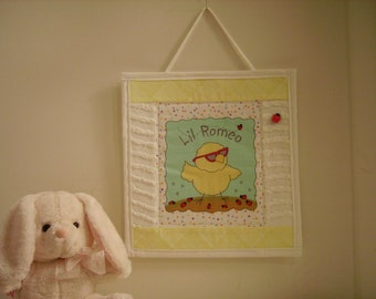 Nursey Wall Decor **Little Romeo**, Wall Hanging, Adorable Gift!