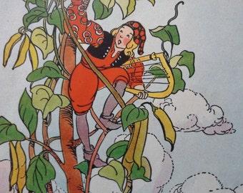 Lois Lenski Jack and the Beanstalk Illustrations