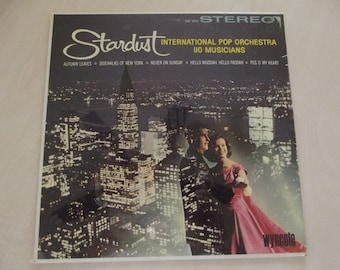 SEALED Vintage Record - never been opened - STARDUST - Wyncote Records