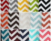 Chevron Kitchen or Hand Towels in Various Colors