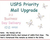 Add on USPS Priority Mail Service to your order