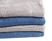 SAMPLE SALE Women's Italian Linen Knitted Shorts