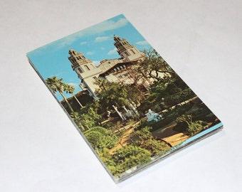 25 Vintage Hearst Castle California Chrome Unused Postcards - Wedding Guestbook