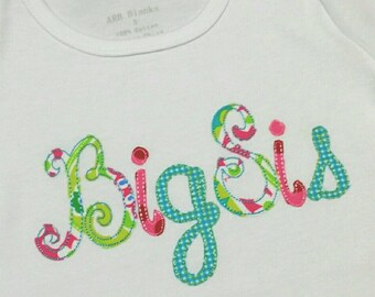 Happy Font Upper and Lowercase Applique Font