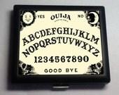 Ouija Board Occult   Black Metal Wallet Cigarette Case No.  1120