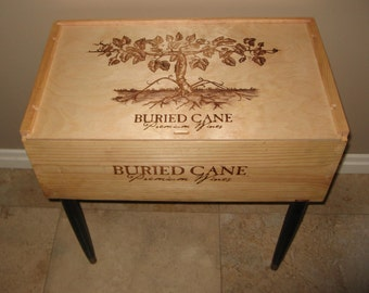 Gaetano Wine Crate Table