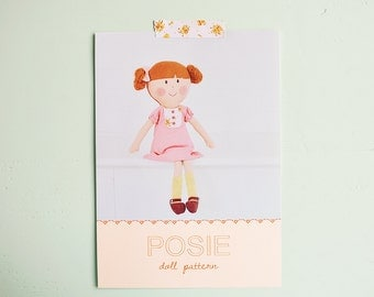 Posie doll pdf pattern/tutorial