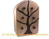 Winter Tree Jewelry Box