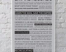 11x17 Empire Records Quote Poster