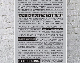 11x17 Empire Records Quote Poster