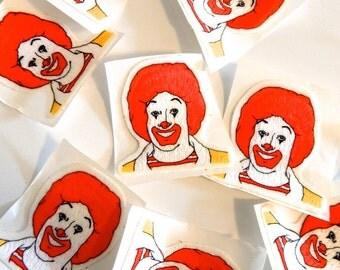 1980s Ronald McDonald Patch