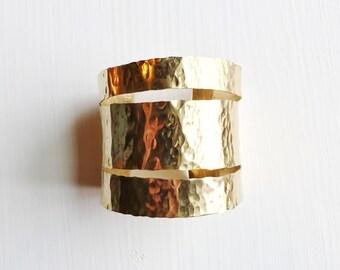Brass Cuff - ATHENA