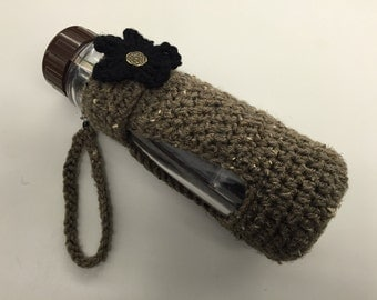 Crochet Travel Infuser Cup Set (Infuser Cup & Cover)_Barley