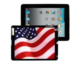 iPad 2/3/4 - iPad Mini - snap on plastic case - American Flag