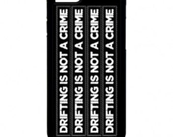 iPhone 4/4S case, iPhone 5/5S Case, iPhone 6, Black or White, Drifting Is Not A Crime
