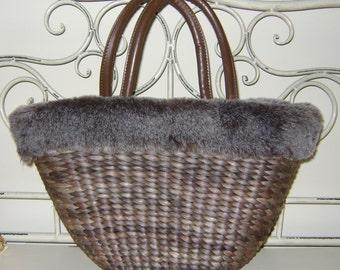 Fur Handbag / Tote