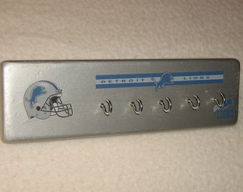 Detroit Lions key rack