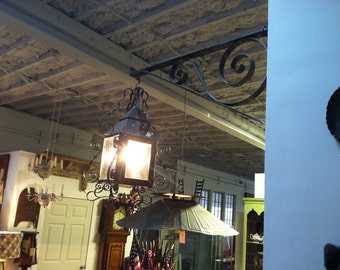 Early cast iron lantern