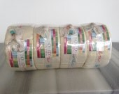 Jelly roll 4 pack - Moda fabric - colour Snow