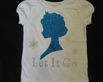 Elsa inspired shirt/onesie, Frozen Elsa shirt