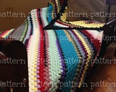 PATTERN Corner-to-Corner Granny Stitch Throw Crochet PATTERN