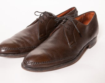 1960's Brown Dress Shoes Size 12 A