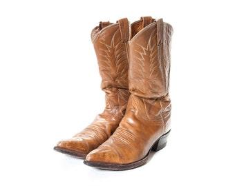 NOCONA Tan  Cowboy Boots Men's Size 10 .5