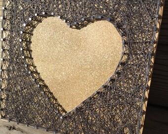 Heart Silhouette!  A new twist!