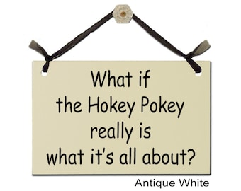 What if the Hokey Pokey really is what it's all about?