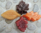Autumn Leaves Fall Guest Soaps