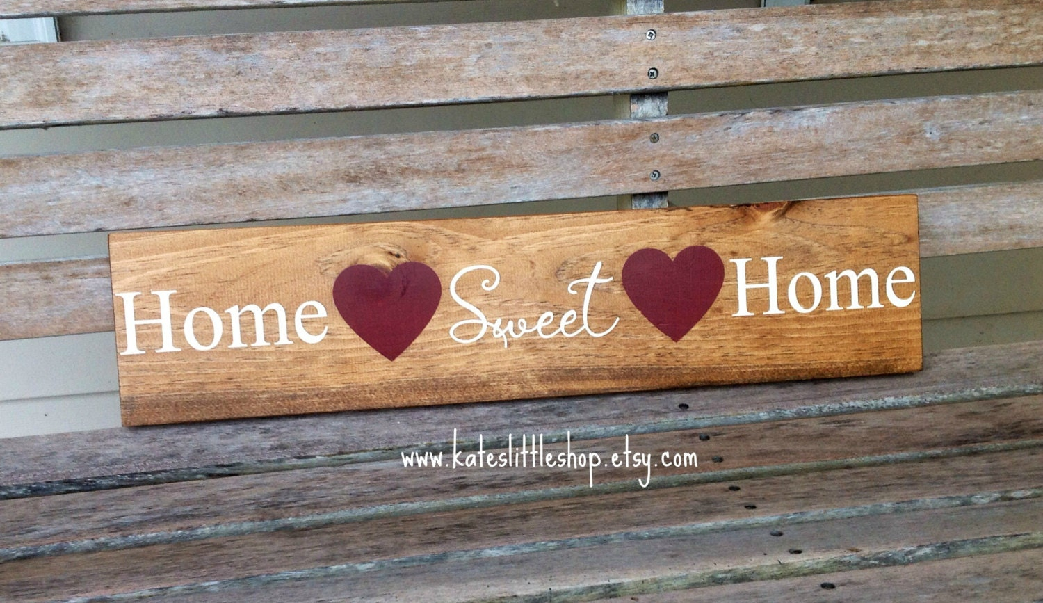 Https Www Etsy Com Listing 217061698 Real Wood Hand Painted Sign Home Sweet