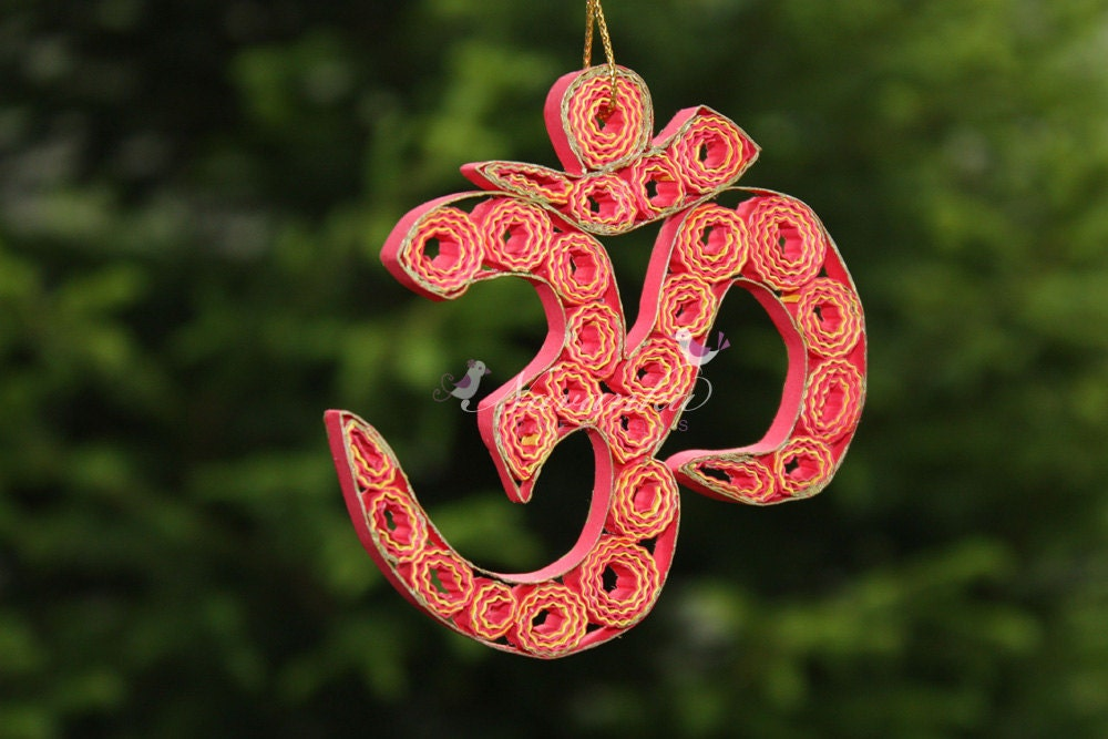 Quilled Paper Ornaments Paper Quilling om in a Gift