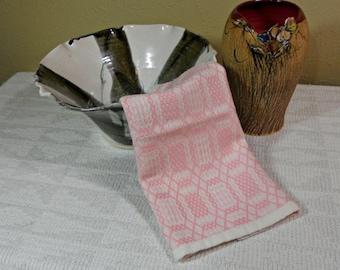 E153 Hand Woven Table Runner or Dresser Scarf