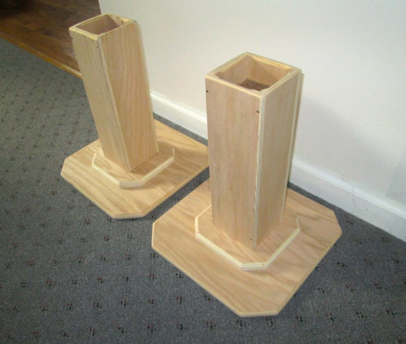 furniture risers 14 inch all wood construction by odyssey359