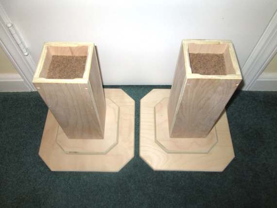 Items similar to dorm room bed risers inch all wood