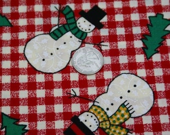 """1 1/2 Yards x 44"""" Wide Fabric Traditions 1994 NTT Inc. #5317 Holiday Cotton Fabric"""