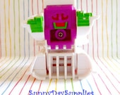 Vintage McDonalds Toys- Changeables ~ Robot Pancakes and Sausage ~ Hotcakes - 1989 Happy Meal Toys ~ Food Toy