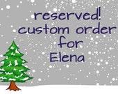 Custom Cape for Elena
