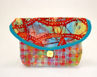 Bicycle Handlebar Bag In Batik
