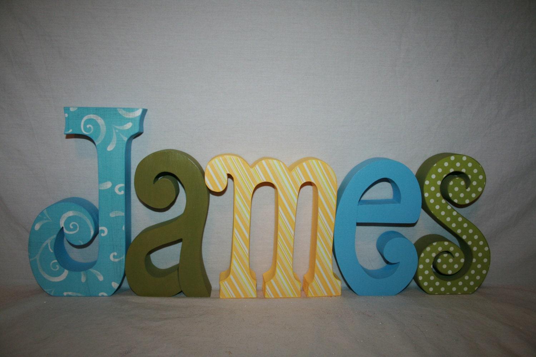 Custom of writing letters nursery