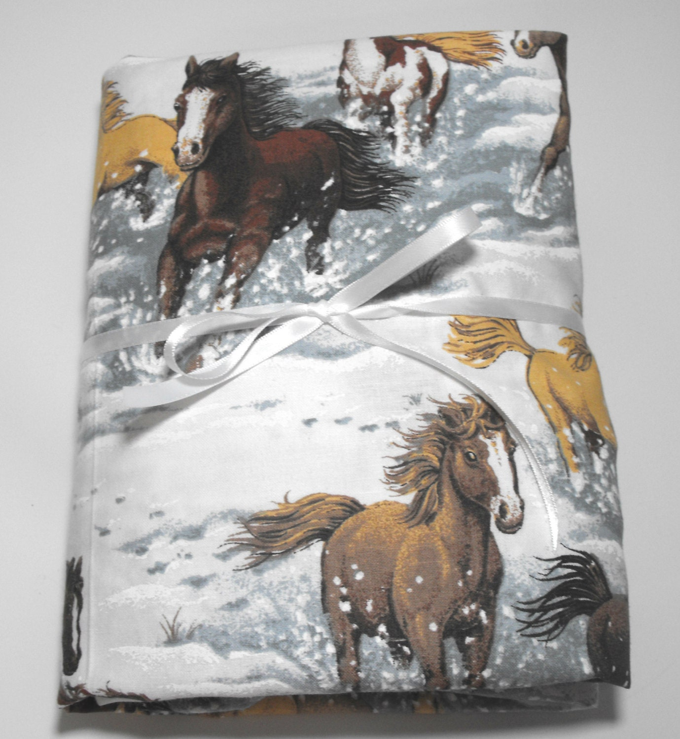 Horse Sheet Set for Crib or Toddler Bedding Horses by ...