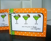 When Life Gives You Lemons, Make Margaritas Card, Thinking of You Card, Encouragement Card, Support Card
