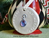 Christmas ornament, pregnancy, memorial, keepsake, expectant parents, new baby, first time mom, fertility, rainbow baby, trying to conceive
